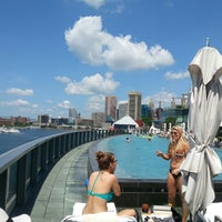Photo taken at Four Seasons Hotel Baltimore by Kim C. on 6/15/2013