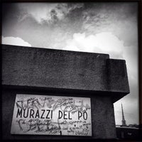Photo taken at Murazzi del Po by Tonick T. on 4/30/2013