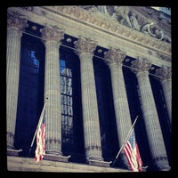 Photo taken at New York Stock Exchange by Driss A. on 5/5/2013