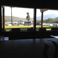 Photo taken at Redfish Lake Lodge by Nate H. on 9/30/2012