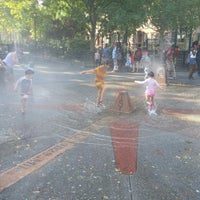 Photo taken at Carroll Park Playground by Francesca N. on 7/28/2015