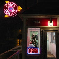 Photo taken at Kane's Donuts by Tonia on 12/29/2012