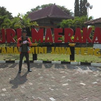 Photo taken at Taman Mini Maerokoco by Apriza Putra رمظان (. on 4/26/2014