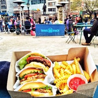 Photo taken at Shake Shack by Liza A. on 4/7/2013