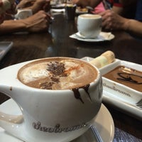 Photo taken at Theobroma Chocolate Lounge by myGloryBox.com on 11/8/2014