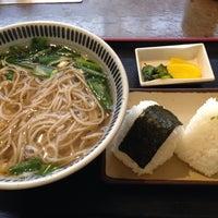 Photo taken at そば茶屋 庄吉 by K N. on 5/9/2014