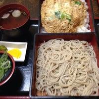 Photo taken at そば茶屋 庄吉 by K N. on 4/4/2014
