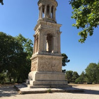 Photo taken at Glanum by Georg A. on 7/23/2015