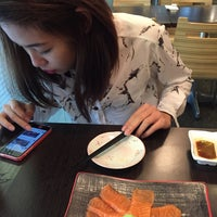 Photo taken at Megumi Japanese Restaurant by Ameline T. on 12/23/2014