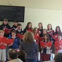 Photo taken at Calvary Christian School by Tonya B. on 9/23/2014