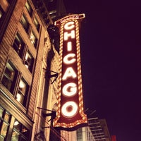 Photo taken at The Chicago Theatre by Daniel H. on 10/17/2012