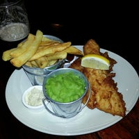 Photo taken at Fitzroy Tavern by Shawn H. on 2/24/2013