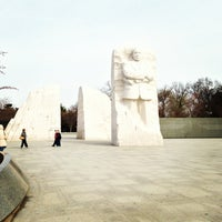 Photo taken at Martin Luther King, Jr. Memorial by Hosie R. on 4/4/2013