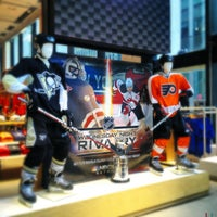 Photo taken at NHL Store Powered by Reebok by bethanne on 1/28/2013