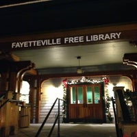 Photo taken at Fayetteville Free Library by Rich R. on 1/10/2013
