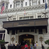 Photo taken at The Roosevelt New Orleans by Stephen Michael F. on 4/28/2013