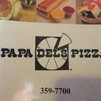 Photo taken at Papa Del's Pizza by Susan H. on 2/11/2015