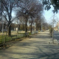Photo taken at Parque Portales by Juan Pablo H. on 8/2/2013