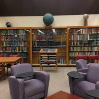 Photo taken at Geology Library Yale by Trip K. on 2/14/2013
