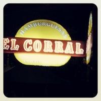 Photo taken at Hamburguesas El Corral by David Andres on 10/28/2012