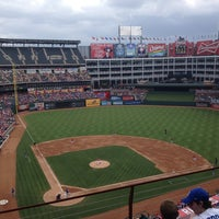 Photo taken at Globe Life Park in Arlington by Josh J. on 6/1/2013