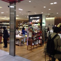 Photo taken at PAPER WALL ecute品川店 by Tsutomu Y. on 11/8/2012