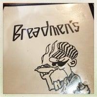 Photo taken at Breadmen's by Katie S. on 12/4/2012