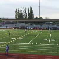 Photo taken at Sunset Stadium by Graeme Y. on 5/15/2013