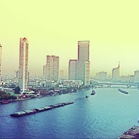Photo taken at Chao Phraya River by Acoala on 3/29/2013