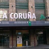 Photo taken at Estación de A Coruña-San Cristovo by Pablo on 11/25/2012