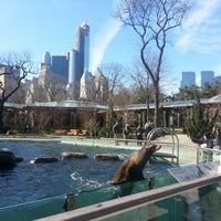 Photo taken at Central Park Zoo by Emmy C. on 2/2/2013