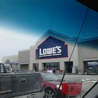 Photo taken at Lowe's Home Improvement by MikeandJo W. on 2/20/2013