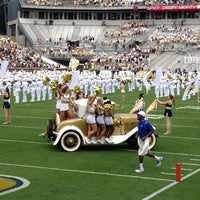 Photo taken at Bobby Dodd Stadium by Lawrence S. on 9/29/2012