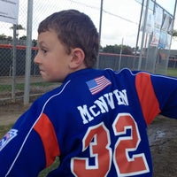 Photo taken at Huntington Valley Little League by Chris C. on 3/27/2014