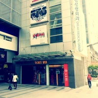 Photo taken at CGV 압구정 by Leo B. on 5/4/2013