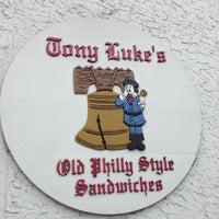 Photo taken at Tony Luke's by Sam V. on 5/19/2013