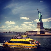 Photo taken at Statue of Liberty by Desmond C. on 7/5/2013
