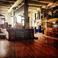 Photo taken at Brooklyn Roasting Company by ceci v. on 8/31/2013