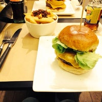 Photo taken at Burger Republic by Alexandre R. on 3/5/2014