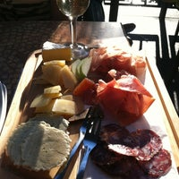 Photo taken at Rittergut Wine Bar & Social Club by Camie G. on 7/12/2013