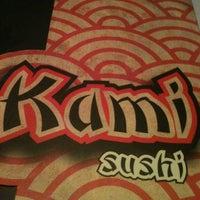 Photo taken at Kami Sushi by Thais G. on 2/19/2013