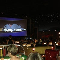 Photo taken at Sci-Fi Dine-In Theater by Chris P. on 6/22/2013