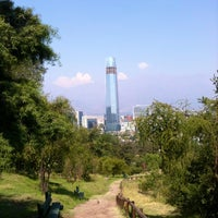 Photo taken at Parque Metropolitano de Santiago by Ro R. on 1/13/2013