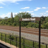 Photo taken at Braddock Road Metro Station by Glenn P. on 9/19/2012