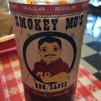 Photo taken at Smokey Mo's BBQ by Michael on 3/23/2015