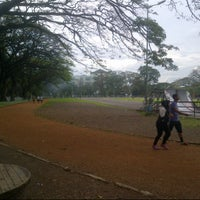 Photo taken at Saparua Running Track by Akbar A. on 7/9/2013
