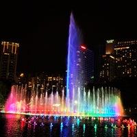 Photo taken at Kuala Lumpur City Centre (KLCC) Park by Leon M. on 5/12/2013
