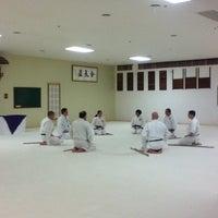 Photo taken at Aikido Yoshokai - Genyokan Dojo by Wade D. on 12/22/2012