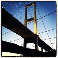 Photo taken at Bosphorus Bridge by Murat Ç. on 7/20/2013