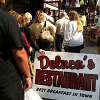 Photo taken at DeLuca's Diner by Bri R. on 9/17/2012